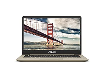 "ASUS VivoBook S S410UQ 14"" Thin and Lightweight FHD NanoEdge WideView Laptop, Intel Core i7-8550U, GeForce 940MX, 8GB DDR4 RAM, 256GB SSD, Windows 10"