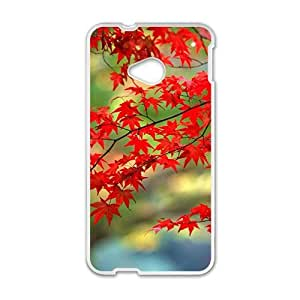 Autumn maple tree scenery Phone Case for HTC One M7