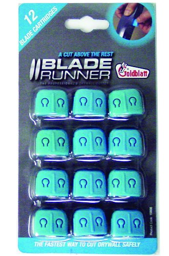 Goldblatt G15856 Blade Runner Replacement Blades, 12- Pack