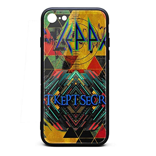 iPhone 7/8 Case - Def-Best-Kept-Secrets-Leppard- TPU Shockproof Protective Case Cover for iPhone 7 Case/iPhone 8 Case
