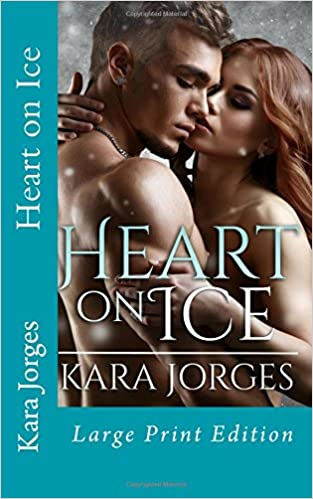 Book Heart on Ice: Large Print Edition