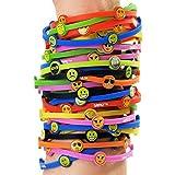 Shiki Emoji Bands - Wear your emotions on your sleeve with Shiki Emoji Bands - Bracelets - Pack of 8 - 14 Different Bracelets in All