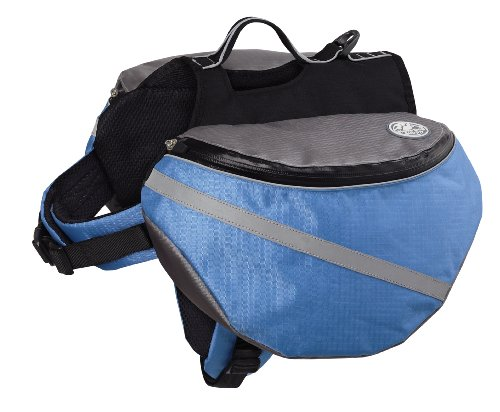 Doggles Dog Backpack, Extreme Medium, Blue/Gray by Doggles