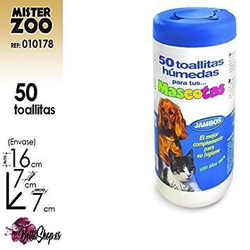 TOALLITAS PARA PERROS TOALLITAS PARA GATOS TOALLITAS PARA MASCOTAS HIGIENE PERRO: Amazon.es: Jardín