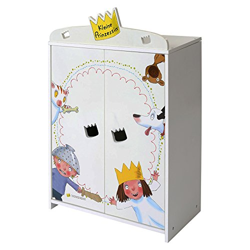Beluga 66000 - Kleine Prinzessin Kleiderschrank für Puppen
