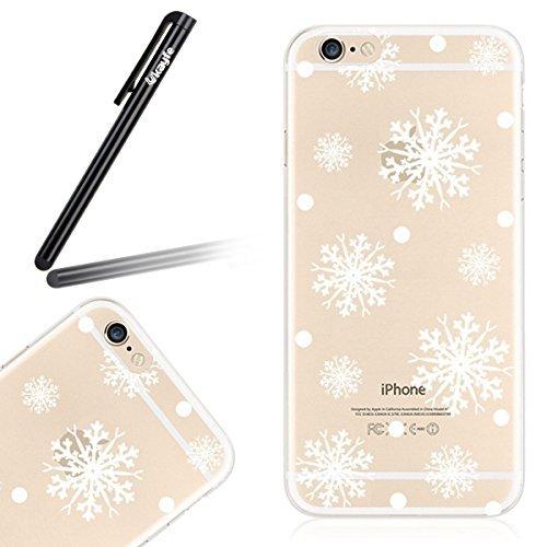 7 opinioni per Ukayfe iphone 6 Copertura, Serie di Natale Custodia Ultra Slim Morbido TPU Gel