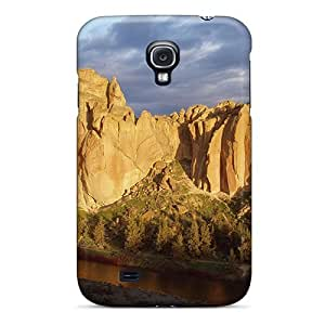 Samsung Galasy S3 I9300 Slim [ultra Fit] Golden Rock Protective Case Cover