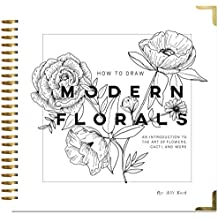 Amazon pencil drawing books how to draw modern florals an introduction to the art of flowers cacti fandeluxe Image collections