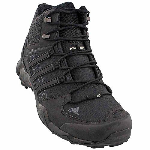 Scarponcino Adidas New Mens Terrex Swift R Medio Nero / Grigio 13