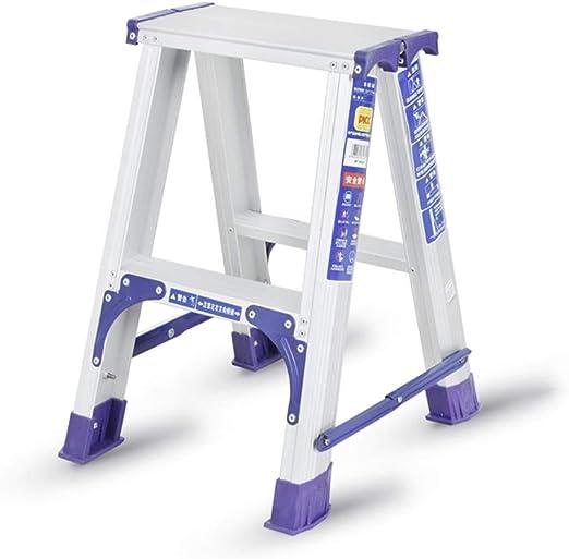 Escalera plegable Escalera de ingeniería, Escalera plegable para exteriores Escalera portátil multifuncional Escalera de la sala de estar Escalera de metal Multifuncional (Tamaño : 38 * 43 * 54CM): Amazon.es: Bricolaje y herramientas