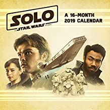 2019 Solo: A Star Wars Story Wall Calendar