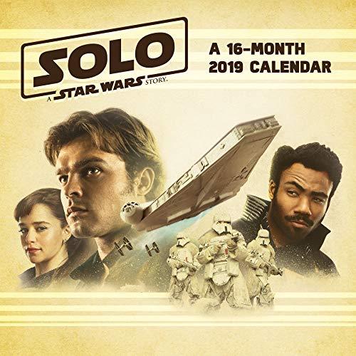 2019 Solo: A Star Wars Story Wall Calendar