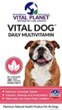 Vital Planet – Vital Dog – Daily Multivitamin – 30 Chewable Tablets