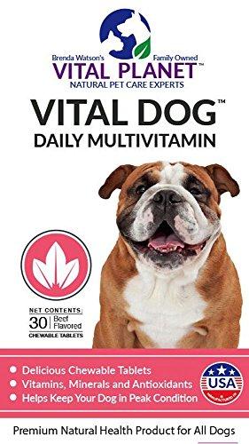Vital Planet - Vital Dog - Daily Multivitamin - 30 Chewable Tablets