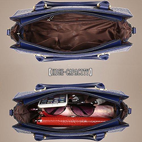 Borse PU Tracolla Grandi Bag Borse in Tote Pelle Donna Borse GAVERIL Borse Spalla G rosa AVERIL qw0z11