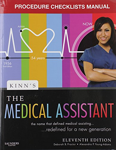 Kinn's The Medical Assistant - Study Guide and Procedure Checklist Manual Package: An Applied Learning Approach