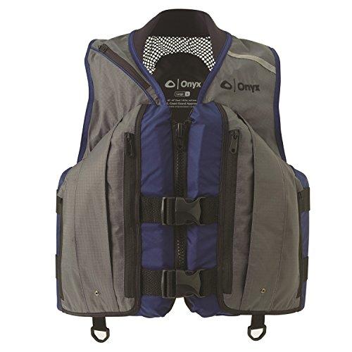 Vest Mesh Deluxe - Onyx Mesh Deluxe Sport Vest - Large, Charcoal/Navy
