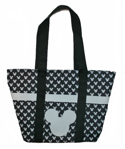 Mickey Mouse Black Iconic Tote