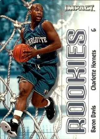 617bfe917ba7 Amazon.com  1999 SkyBox Impact Basketball Rookie Card (1999-00)  55 Baron  Davis Near Mint Mint  Collectibles   Fine Art