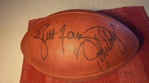 9e82878169d BRETT FAVRE   JOHN ELWAY Combo Signed Superbowl XXXll Football -JSA  Authenticated