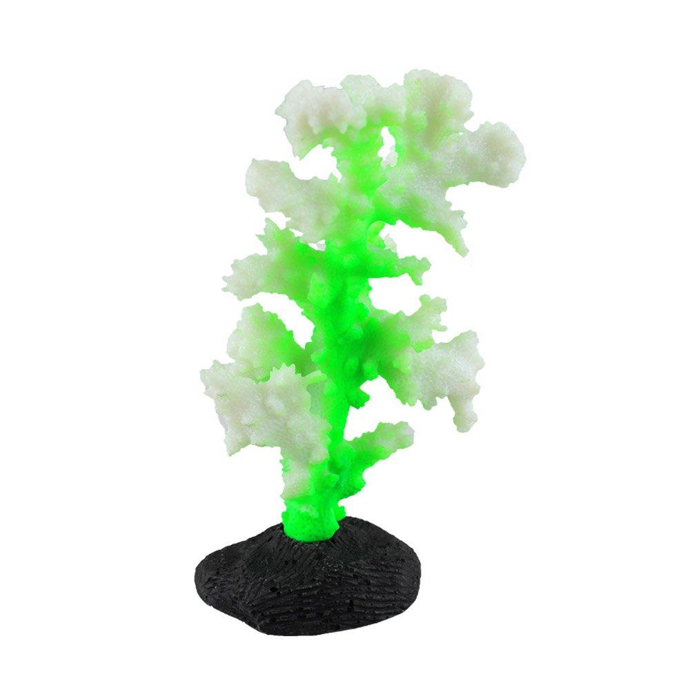 Danmu Art 1PC incandescente effetto artificiale corallo pianta ornamento per acquario decorazione