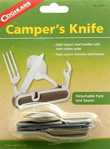 Coghlan's Campers Knife - High Carbon Stainless Steel Blades/Camping/Backpacking