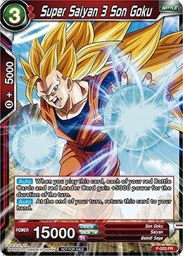 (Dragon Ball Super TCG - Super Saiyan 3 Son Goku - Shop Tournament Promo - Promotion Cards - (Dragon Ball Super Promotion Cards) -)