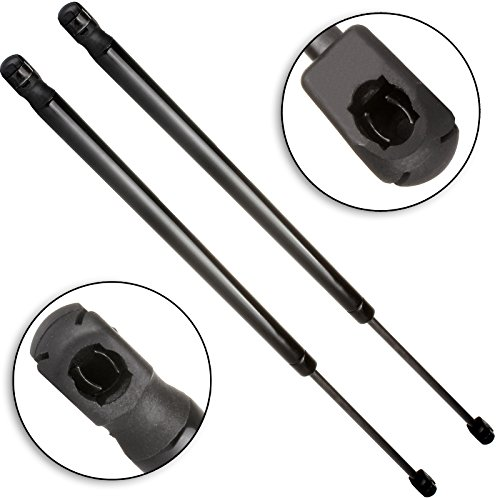 cciyu Qty(2) PM3075 Hood Lift Supports Struts Replacement fit for 2004-2010 Volkswagen Touareg