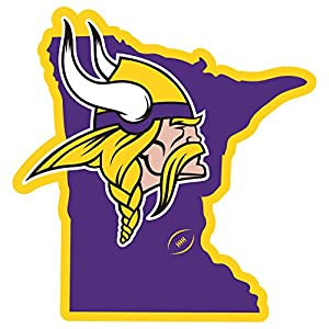 amazon com nfl minnesota vikings home state magnet 11 purple rh amazon com minnesota vikings helmet clipart minnesota vikings helmet clipart