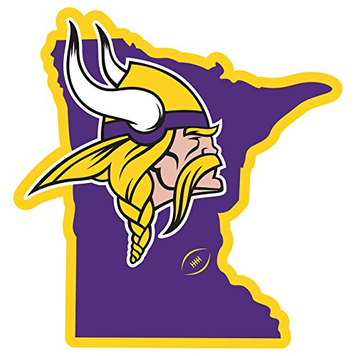 Shirts Refrigerator Magnet (NFL Minnesota Vikings Home State Magnet, 11