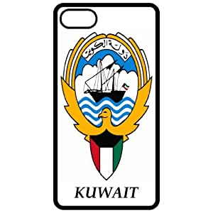 Kuwait - Coat Of Arms Flag Emblem Black Apple Iphone 4 - Iphone 4s Cell Phone Case - Cover