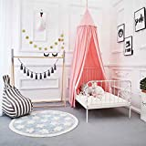 Dix-Rainbow Princess Bed Canopy for Kids Baby