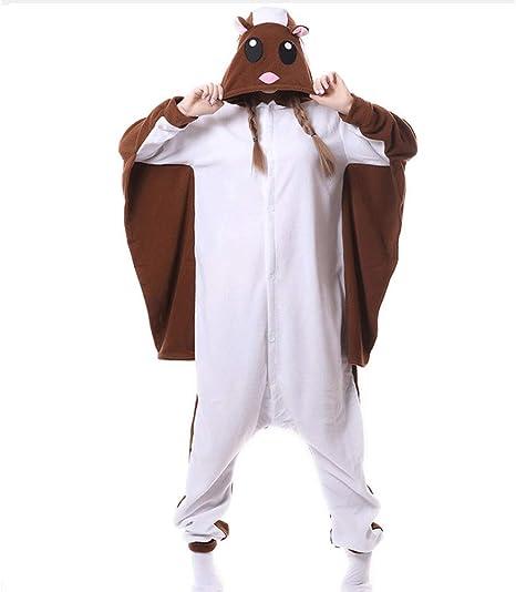 BERTHACC Mujer Hombres Traje Disfraz Animal Pyjamas, Ropa de ...