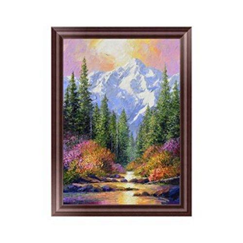 - EA-STONE Scenery 5D DIY Diamond Painting,Cross Stitch Kit,Crystals Embroidery Kits Arts Home Decor Craft (11.81