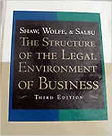 legal environment of business book pdf