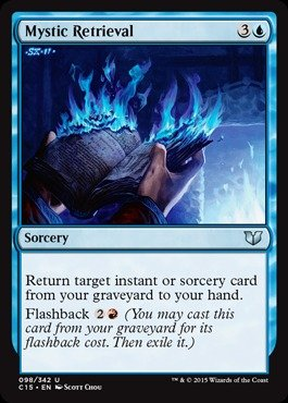 Magic: the Gathering - Mystic Retrieval (098/342) - Commander (Uncommon Sorcery Single Card)