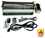 Hyco GFK4 Fireplace blower kit compatible with Heatilator, Majesti, CFM, Vermont Castings, Monessen; Rotom #HBRB74K For Sale