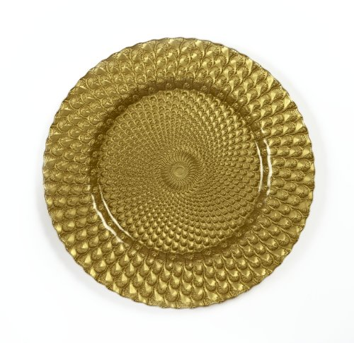 IMPULSE! Sorrento Charger, Gold, Set of (Gold Round Chop)