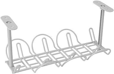 Giytoo Under Desk Cable Management Tray Organizador para Cable de Carga