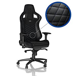 noblechairs EPIC - Black/Blue - Gaming Chair / Office Chair / Desk Chair