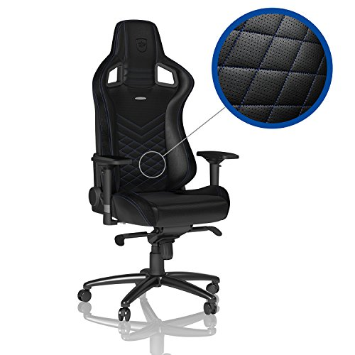 noblechairs EPIC – Black/Blue – Gaming Chair / Office Chair / Desk Chair