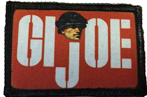 - Retro GI Joe Logo Morale Patch. Perfect for your Tactical Military Army Gear, Backpack, Operator Baseball Cap, Plate Carrier or Vest. 2x3