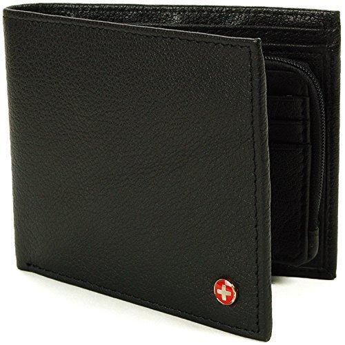Alpine Swiss Blocking Leather Wallet product image