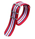 Colorful Durable Stylish Nylon NATO style Watch Straps Bands Replacements for Men Women
