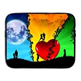 Ministoeb Everybody Needs Love Laptop Storage Bag - Portable Waterproof Laptop Case Briefcase Sleeve Bags Cover