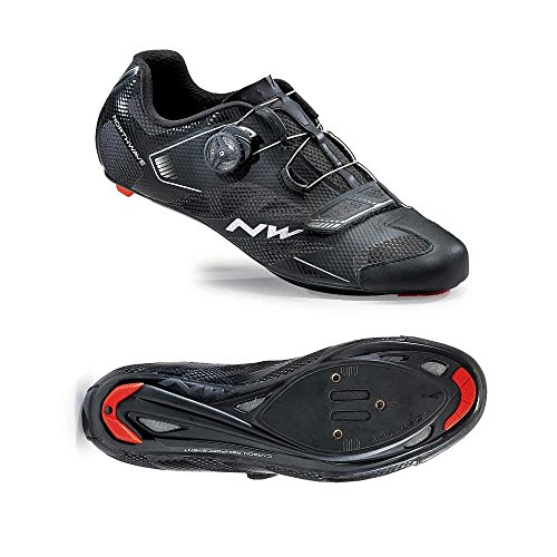 Northwave Sonic 2 Plus Road Cycling Bike Shoes Black 45 EU from Northwave