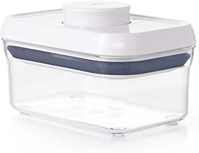 OXO Good Grips POP Container – Airtight Food Storage – 0.5 Qt for Candy (0.5 Qt),White,0.5 Qt - Candy