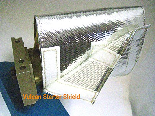 Starter & Magneto Heat Flex Shield Wrap Reflective Mylar