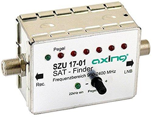 Axing SZU 17-01 Sat-Finder Satellitenfinder digital mit Tonsignal