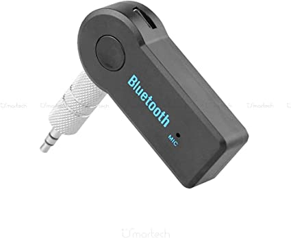 Dispositivo Receptor Bluetooth Con Micr/ófono Incorporado Llamada Manos Libres 1neiSmartech Cable Aux En Adaptador Para Radio De Coche Visteon Fiat Bravo Desde 2007 Jack Hembra 3,5 Mm